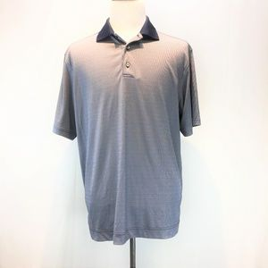 FootJoy Large Navy & Gray Polo Shirt NEW